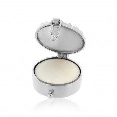 Twine Knot 925 Silver Aromatherapy Solid Perfume Locket Charm
