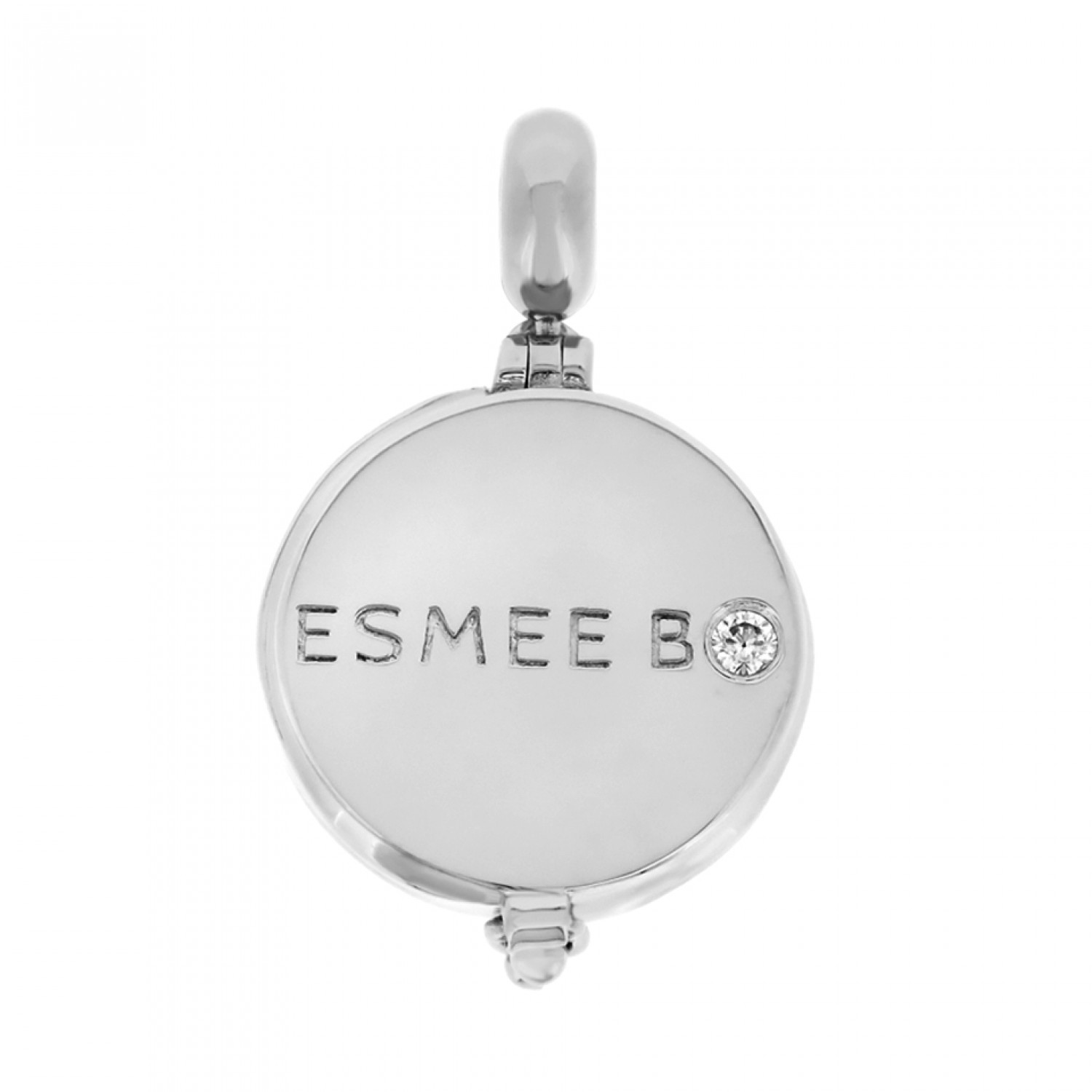 Cocoon Esmée Bo. Signature Silver Aromatherapy Locket Charm