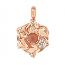 Jardin Rose Aromatherapy Locket Charm