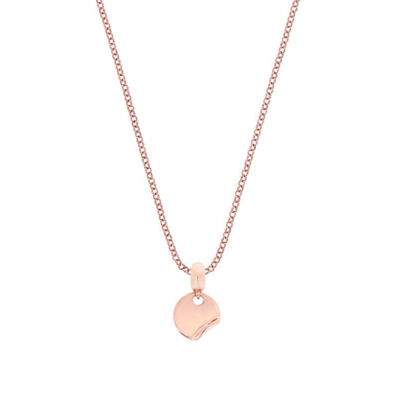 Cocoon Fold Rose Gold Vermeil Love Charm