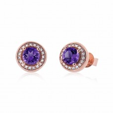 Cocoon Voguish Gems Amethyst Earrings