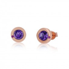 Cocoon Essence Gems Amethyst Earrings