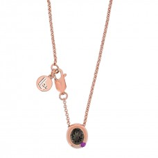 Cocoon Stacking Gems Smoky Topaz Necklace