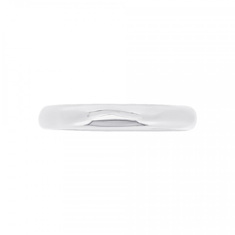 Cocoon Stacking Pure Silver Ring