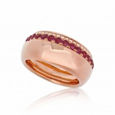 Cocoon Precious Bold Pink Sapphire Ring