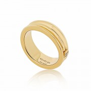 Cocoon Wave Pure Gold Ring