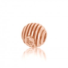 Round Striped Rose Embellishment