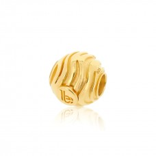 Round Wave Gold Embellishment