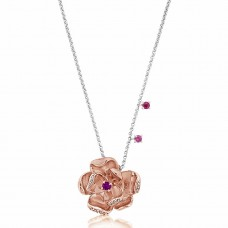 Jardin Magnolia Precious Rose Necklace