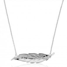 Jardin Leaves Silver Necklace