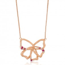 Jardin Conceptual Magnolia Rose Necklace