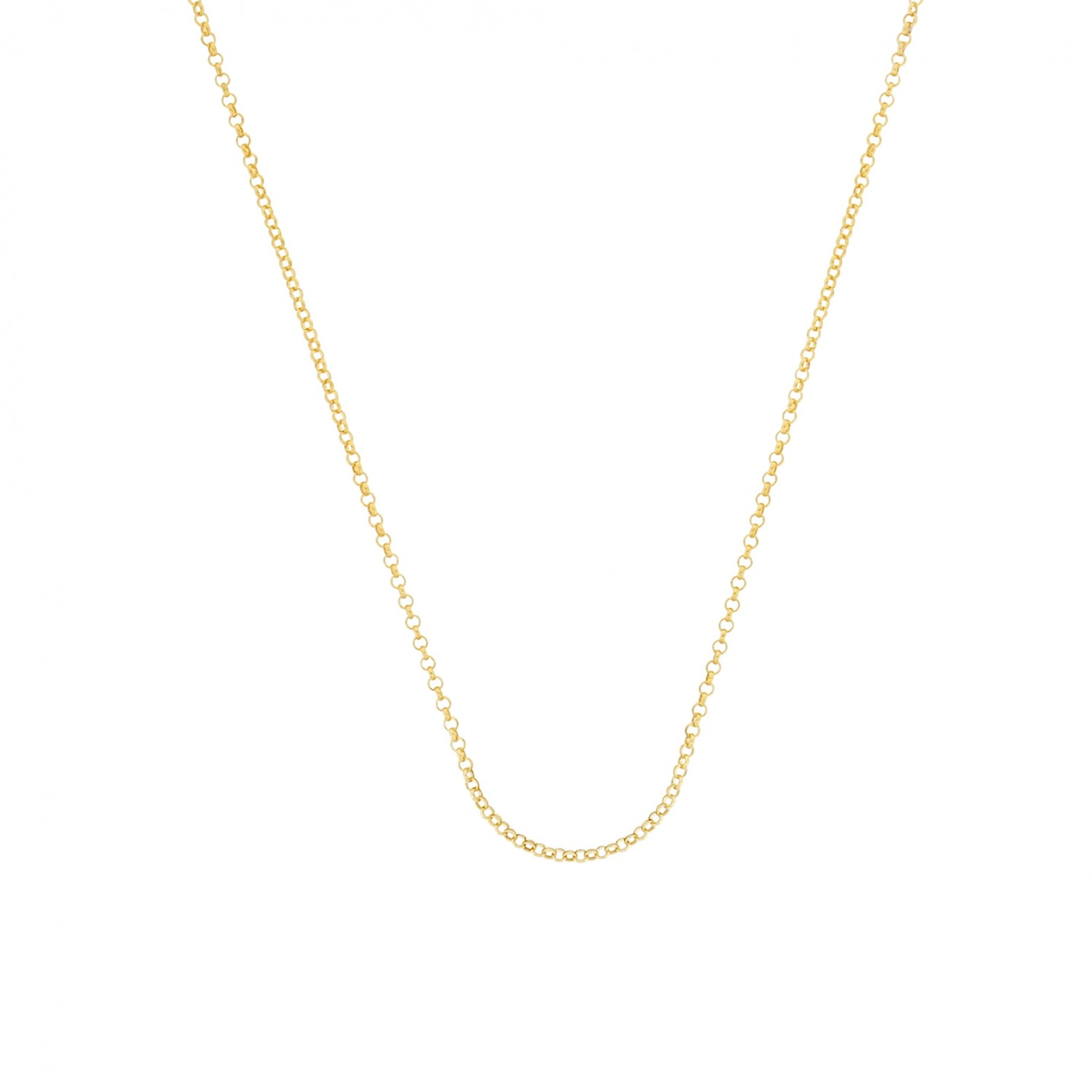 Esmée Bo. Pure Rolo Gold Long Necklace