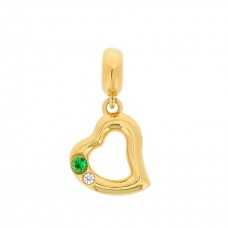 Symphony True Heart Gold Love Charm