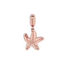 Serene Starfish Rose Love Charm