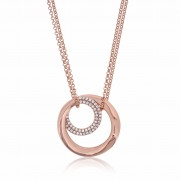 Twine Encircle Rose Necklace