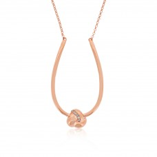 Twine Trinity Rose Necklace