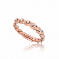 Twine Twisted Rose Ring